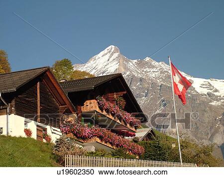 banques de photographies suisse europe berne berne grindelwald bernese alpes berner. Black Bedroom Furniture Sets. Home Design Ideas