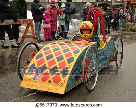 Stock photograph of quebec city quebec canada winter for Go kart interieur quebec