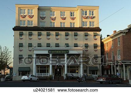 Gettysburg Pa Pennsylvania Downtown Hotel