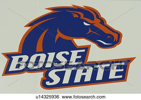 Stock Images Of Boise Id Idaho Boise State University Bronco Stadium Football Broncos