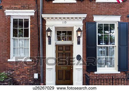 Banque de photographies usa virginie alexandria a for Virginie maison