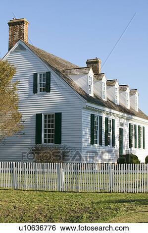 Archivio di immagini digges casa incorporata 1775 in for Casa coloniale americana
