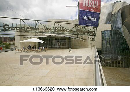 Banques de photographies entr e de les guggenheim - Hole d entree ...