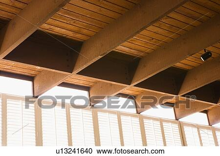 Stock Photography Of Plantation Shutters And Ceiling