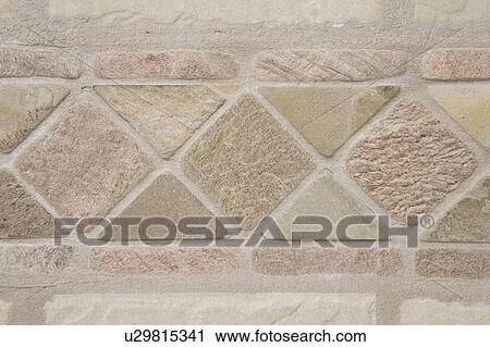 Stock fotografie teilausschnitt von stein - Fliesenmuster dusche ...