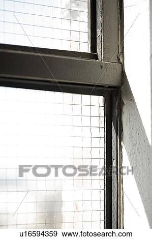 Fenster clipart schwarz weiß  Stock Fotograf - schwarz weiß, industriell, fenster ...