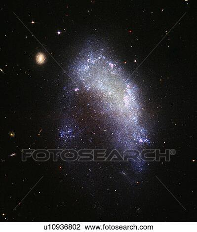 Clip Art of The irregular galaxy NGC 1427A u10936802 ...