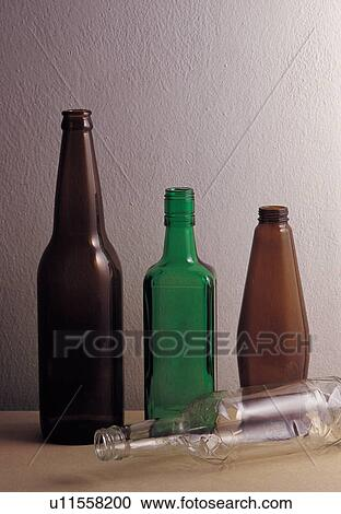 Stock photography of drink interior jar decorations for Beer bottle decoration ideas