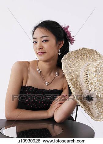 Asian posture photos