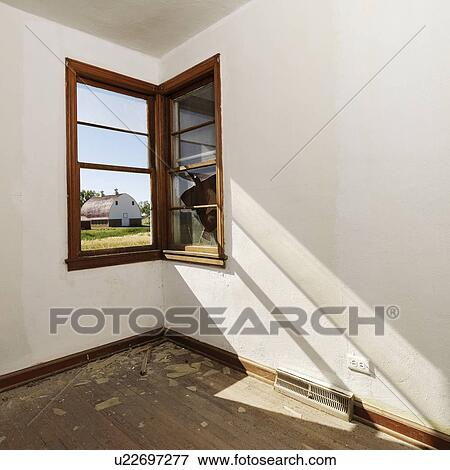 wall in room clip art picture of empty abandoned room with sunrays stretching across