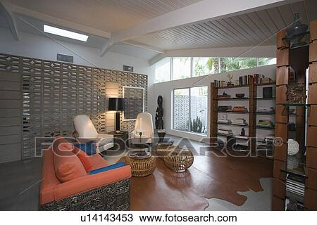 Stock photo of modern living room home interior u14143453 for Aleso3d interior 026 lounge room