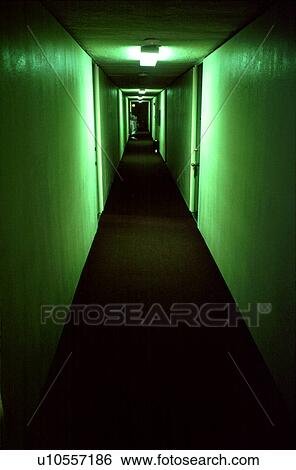 Stock Image   Dark Hallway. Fotosearch   Search Stock Photography, Poster  Photos, Pictures