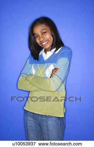 Arms African American Teen 49
