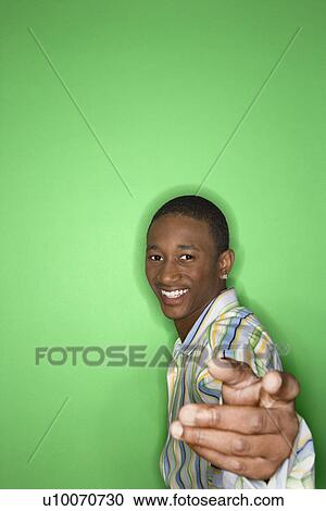 Of Smiling African American Teen 29