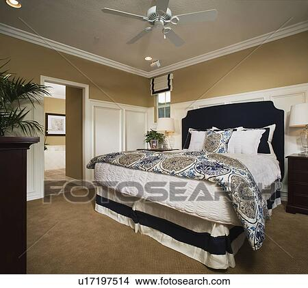 Banque de photo ma tre chambre coucher for Voir chambre a coucher