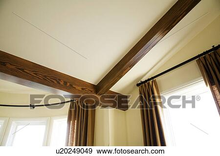 coleccin de fotografa detalle de madera techo vigas y barras cortina