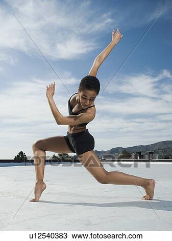 非洲女性 芭蕾舞舞蹈演员