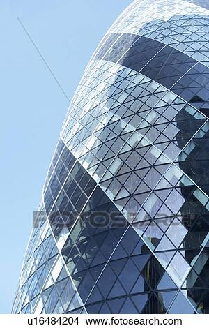 Banque de photo verre ext rieur de suisse re tour for Tour de verre a londres