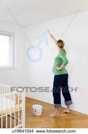 Schilderij voor babykamer babykamers kinderkamerstylist zwarte kast slaapkamer slaapkamer - Decoratie vrouw slaapkamer ...