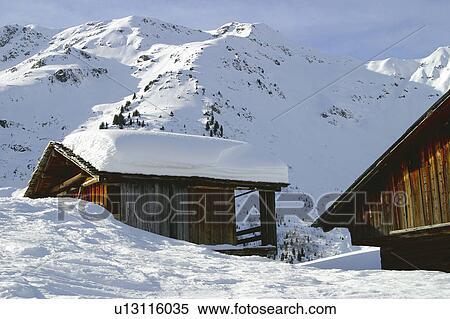 Archivio immagini paesaggio di neve paesaggio for Stampe di baite