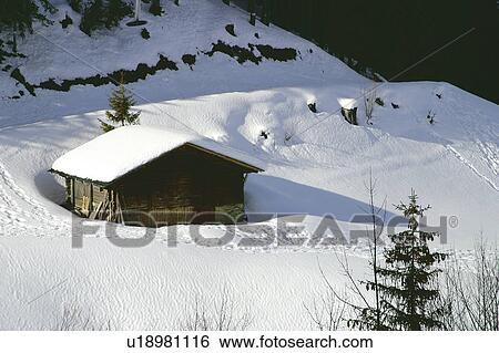 Archivio di immagini paesaggio di neve paesaggio for Stampe di baite