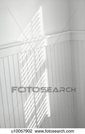 Stock Photo Of Sun Spot On Wall From Light Shining Through