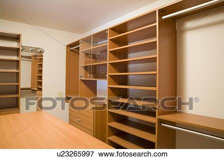 Picture Of Empty Walk In Closet U23265997
