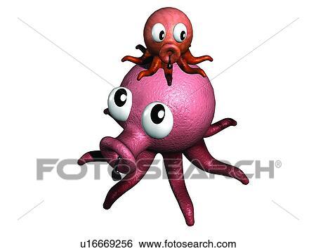 Archivio di immagini rosso carino taco bambino - Animale cartone animato immagini gratis ...