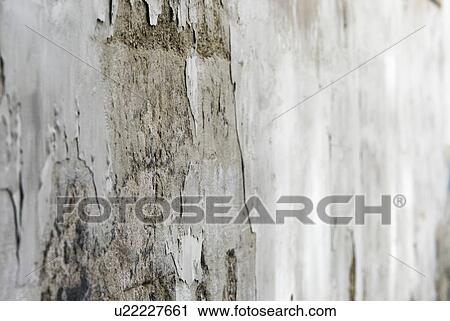 stock photography concrete mildew house wall renovate fragile decay