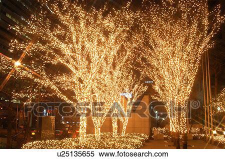 stock bild weihnachten hintergrund beleuchtung nacht nightview cityscape licht u25135655. Black Bedroom Furniture Sets. Home Design Ideas