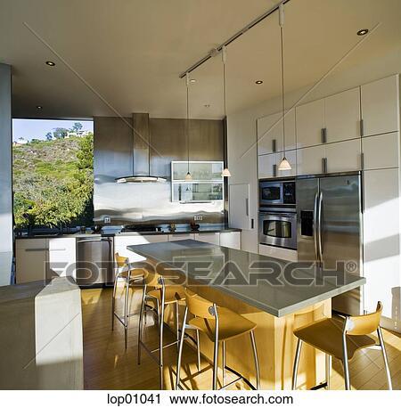 stock fotografie modernes kueche lop01041 suche stockfotos fotos prints bilder und foto. Black Bedroom Furniture Sets. Home Design Ideas