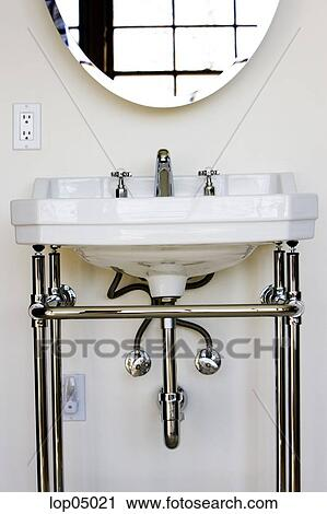 Stock Photography Of Contemproary Bathroom Sink With