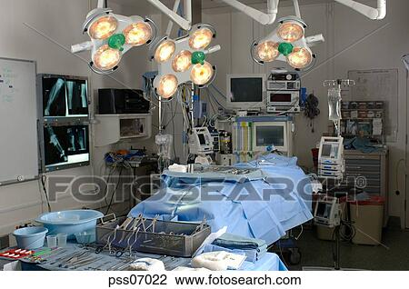 Stock Photo Of Empty Operating Room Pss07022 Search