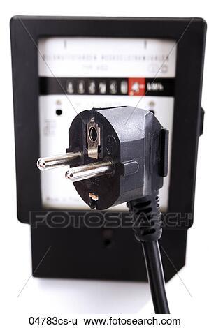 stock bilder stromz hler und stecker verbinder 04783cs u suche stockfotografie. Black Bedroom Furniture Sets. Home Design Ideas
