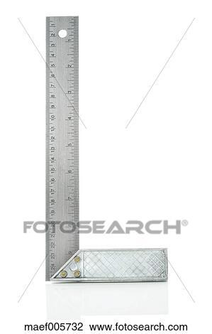 stock foto rechter winkel lineal auf whtie hintergrund nahaufnahme maef005732 suche. Black Bedroom Furniture Sets. Home Design Ideas