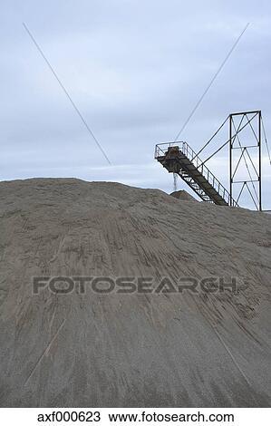 Banque de photo allemagne bavi re feldkirchen gravier carri re axf000623 recherchez des - Prix gravier carriere ...