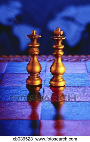 Stock Foto - koenig, und, königin, figuren. Fotosearch - Suche Stock Fotografien, Posterbilder, Bilder und Clip Art Fotos