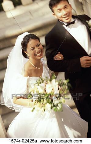 新婚夫妇真实图片