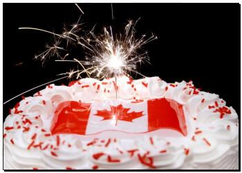 壁画 加拿大, 主题, 蛋糕, a