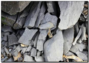 灰色, flagstone, 结构, 石灰石, 在中, pyrenees k5460221 冲印