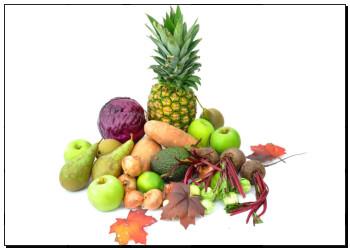 艺术图片 秋季, 水果和蔬菜