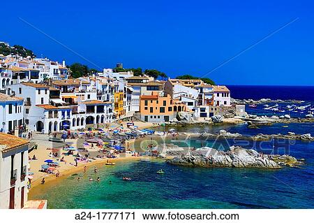 Banques de photographies espagne catalunya girona - Calella de palafrugell office tourisme ...