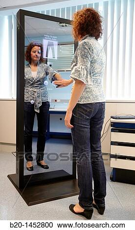 Banques de photographies interactif miroir cela for Miroir interactif