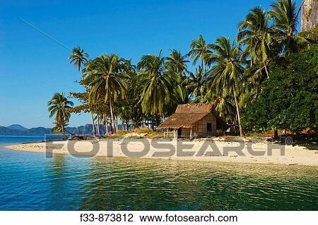 Bacuit Archipelago At El Nido Palawan Island Philippines Stock Image