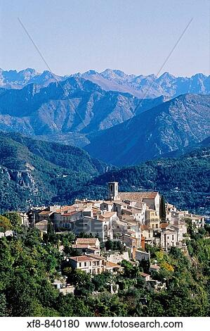 Bouyon Alpes Maritimes 06 French Riviera C Te D Azur Paca France Europe Stock Image Xf8 840180 Fotosearch