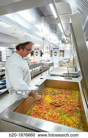 Banques de photographies cuisinier pr paration for Cuisinier basque