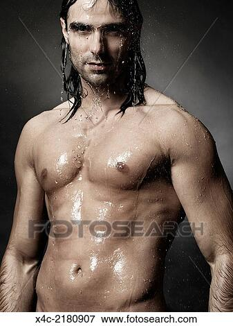 nudo doccia clip