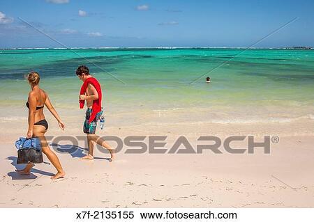 stock image of el cortecito beach punta cana dominican republic