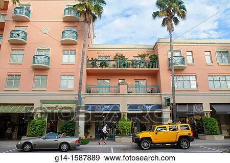Boca Raton Shopping >> Florida Boca Raton Mizner Park Plaza Real Shopping