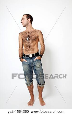 Hairy jeans